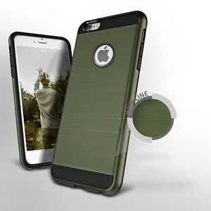 TOUGH ARMY GREEN HYBRID BRUSHED HEAVY DUTY CASE FOR IPHONE 6, 6S Regina Regina Area image 3
