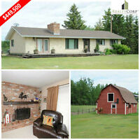 Perfect Country Home 4 Bedroom Ranch Style Bungalow
