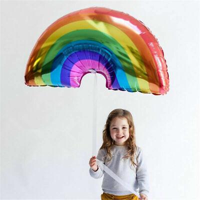 Giant FOIL BALLOONS Self Inflating Helium Birthday Party Rainbow Wedding Decor