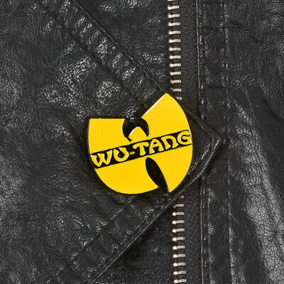 Wu Tang Clan Hip Hop Music Band 90s Vintage Style Enamel Clutch Retro Tie Pin - Music Pins