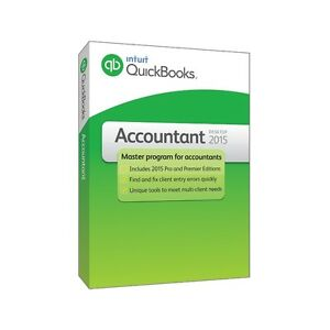 ISO Wanted QuickBooks Accountant 2015 CAD Version Software