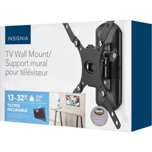 "BRAND NEW Insignia 13"" - 32"" Tilting TV Wall Mount BRAND NEW"