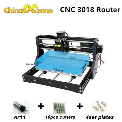 Cnc 3018 Pro Engraving Router Pcb Wood Carving Diy Milling Engraving Machine