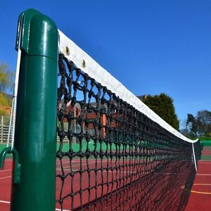 NetWorld 3.5mm Double Top 33ft Singles Tennis Net (19lbs)