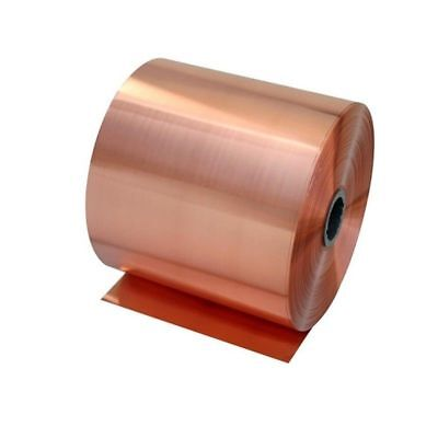 1pc 0.01mm 100mm X 1000mm 99.9 Pure Copper Cu Metal Sheet Foil Freeship