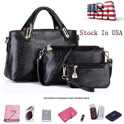 Women Handbag Shoulder Bags Tote Purse Leather Ladies Messenger Hobo Bag Satchel