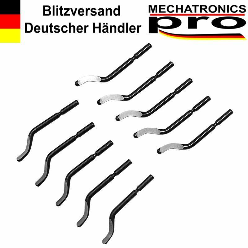 10x Handentgrater Ersatzklingen Typ BS101 Metall Kunststoff Holz Rohr 3D Drucker