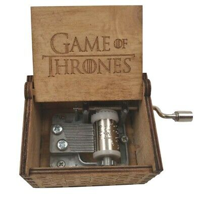 Hand Game Of Thrones scatola decorativa in legno Carillon Music Box Collezione X
