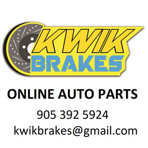 2015 AUDI A3 PREMIUM BRAKE ROTORS FRONT& REAR + INC.TAX
