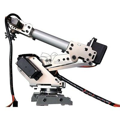 6-axis Industrial Mechanical Robot Arm Model Aluminum Manipulator Diy Only Frame