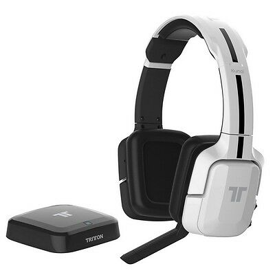 Mad Catz Ps3 Bluetooth Headset (Mad Catz Tritton Kunai Wireless Stereo Gaming Headset for Xbox 360 PS3 PS4)
