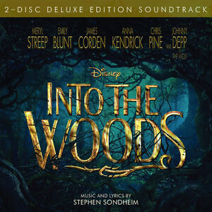 Into The Woods-Stephen Sondheim-new/sealed 2 disc set