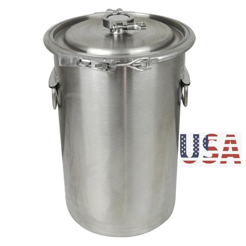 5 Gallon Stainless Steel Stock Pot Brew Kettle Beer Wine Pot