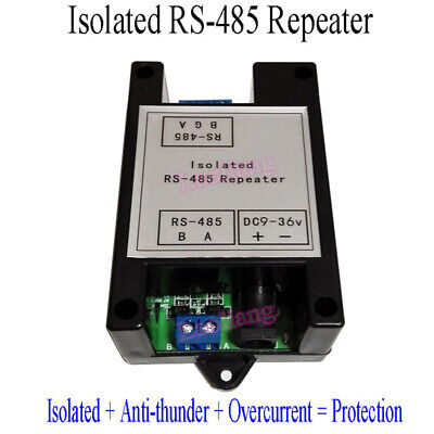 Isolated Rs 485 Repeater Isolator Signal Amplifier Distance Extender With Case