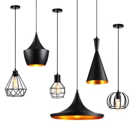 Vintage Industrial Chandeliers Hanging Ceiling Light Pendant Lamp Shade Fixture