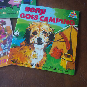 Four Read-Along Books and Records, 33 1/3 RPM Kitchener / Waterloo Kitchener Area image 2