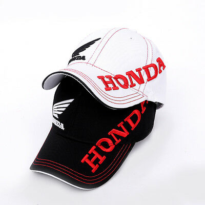 Motorcycle Racing Cap HONDA Embroidered Baseball Cap Hat Outdoor Sports Gift