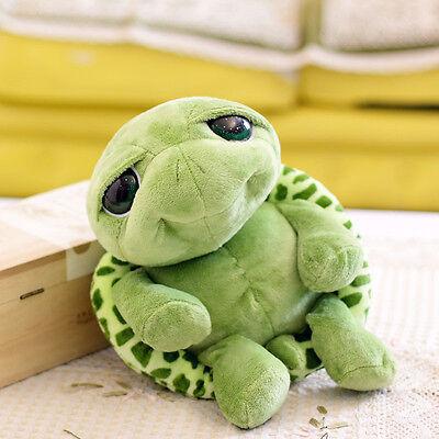 Schildkröte (1 x Schildkröte Plüsch Plüschtier Stofftier Kuscheltier Landschildkröte-Geschenk)