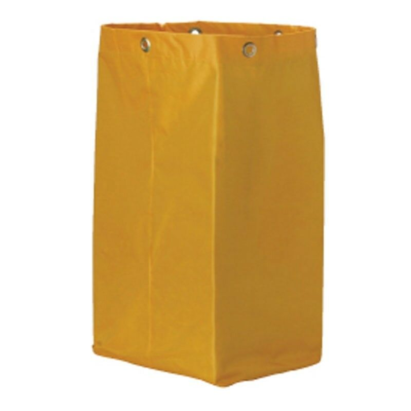 new Janitorial Trolly Yellow Bag # JA-002 suit Oates Edco Sabco Brand Trolly Bag