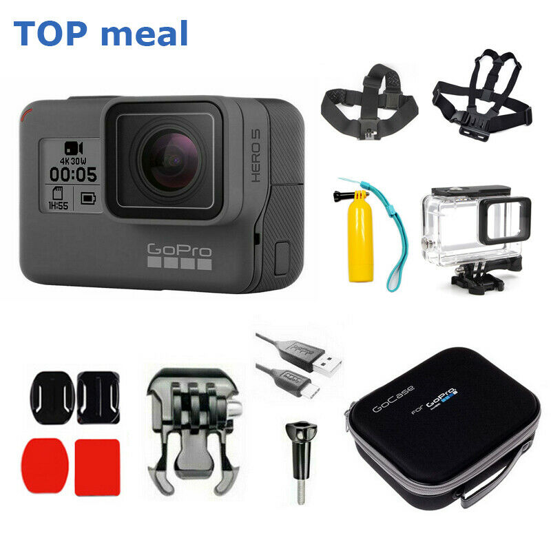 GoPro HERO 5 Black Waterproof Action 4K Ultra HD Camera Touch Screen Case