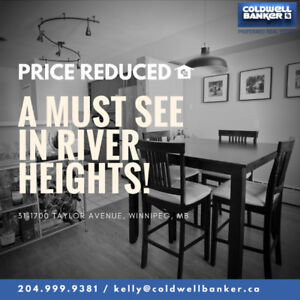 Price Reduced - River Heights Open Concept Open House Today