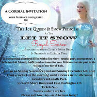 LET IT SNOW ROYAL SOIREE - MEET ELSA, ANNA, OLAF AND FRIENDS...