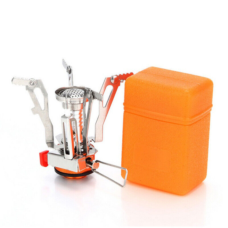 Ultralight Portable Outdoor Backpacking Stove Butane Burner Camping 3000W Camping & Hiking