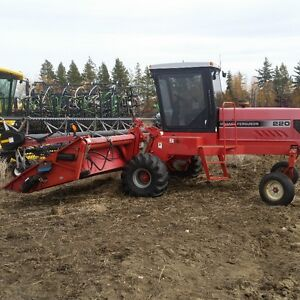 MF220 26ft Swather for Sale Strathcona County Edmonton Area image 2