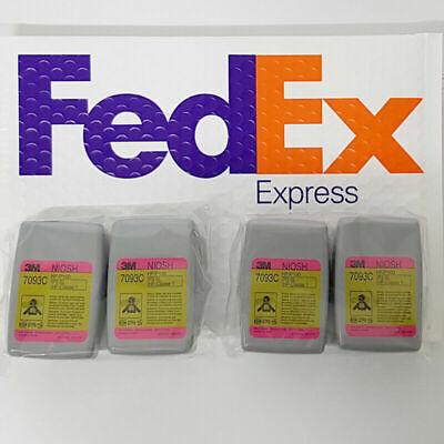 Original 3M 7093C 4 PCS ( 2 PAIR ) - FedEX ( Priority Service )