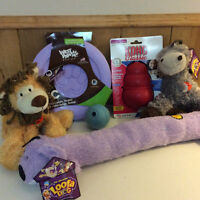 Lot of 6 Brand New Dog Toys
