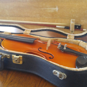 Child's Violin German Made and Hard Case