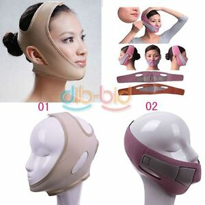 Wrinkle-Half-Face-Slimming-Cheek-Mask-Lift-V-Face-Line-Belt-Strap-Band-KZUK