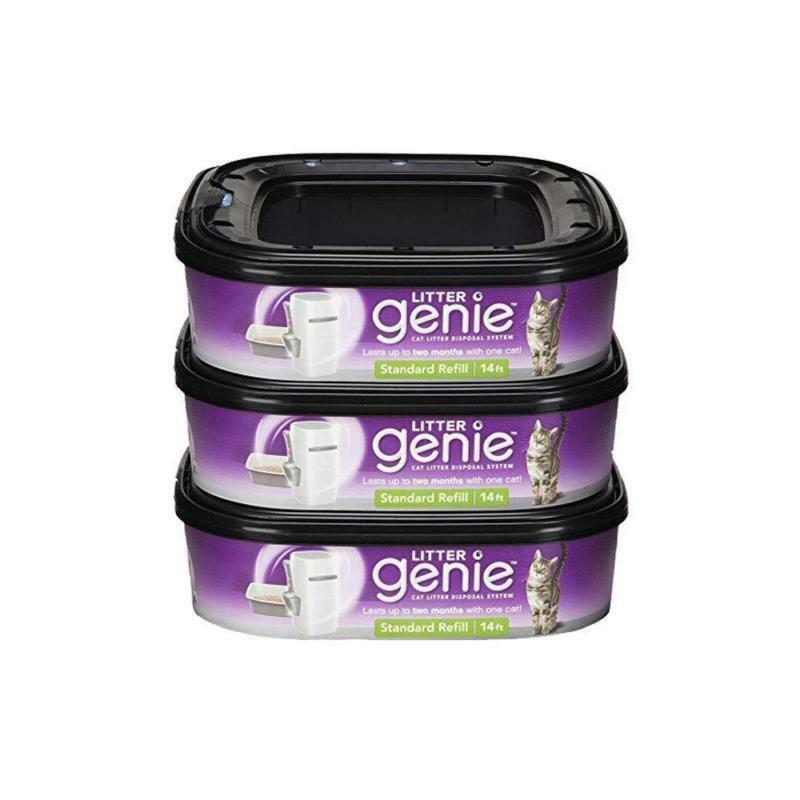 Litter Genie Ultimate Cat Control Odor Litter Refill, Free Shipping