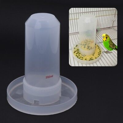 Pet Bird Feeder Food Water Feeding Automatic Drinker Parrot Clip Dispenser Cage