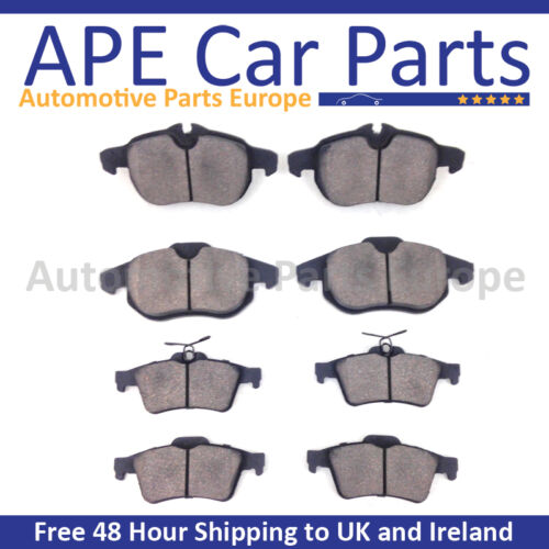 Lexus IS200 2.0 1999-2006 Front and Rear Brake Brake Pads Set NEW