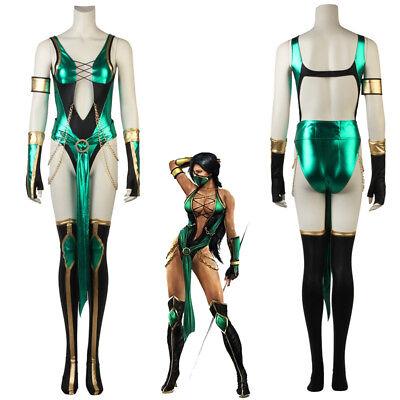 Womens Mortal Kombat Costumes (Mortal Kombat X Jade Cosplay)