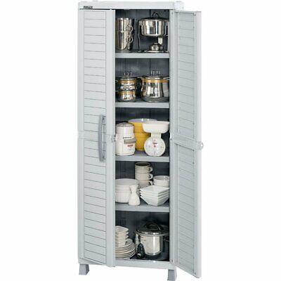 Rimax  Light Gray Large Storage Cabinet