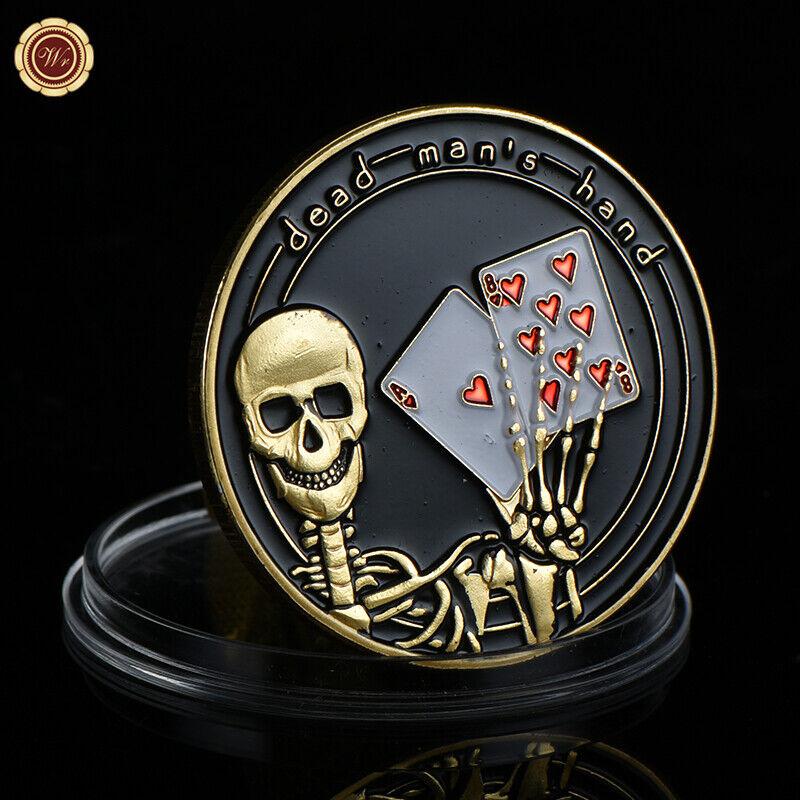 WR Poker Guard Card Cover Dead Man