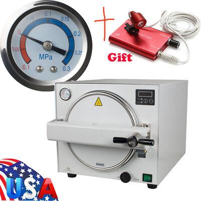 Usps Dental Lab Equipment Autoclave Steam Sterilizer Medical Sterilization 18l