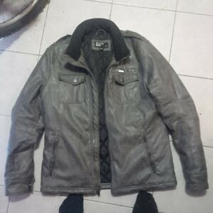 leather jacket Kitchener / Waterloo Kitchener Area image 1