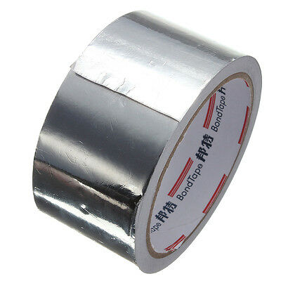 Aluminium Foil Heat Shield Adhesive Sealing Tape Repairs Accessior 50mmx 17m
