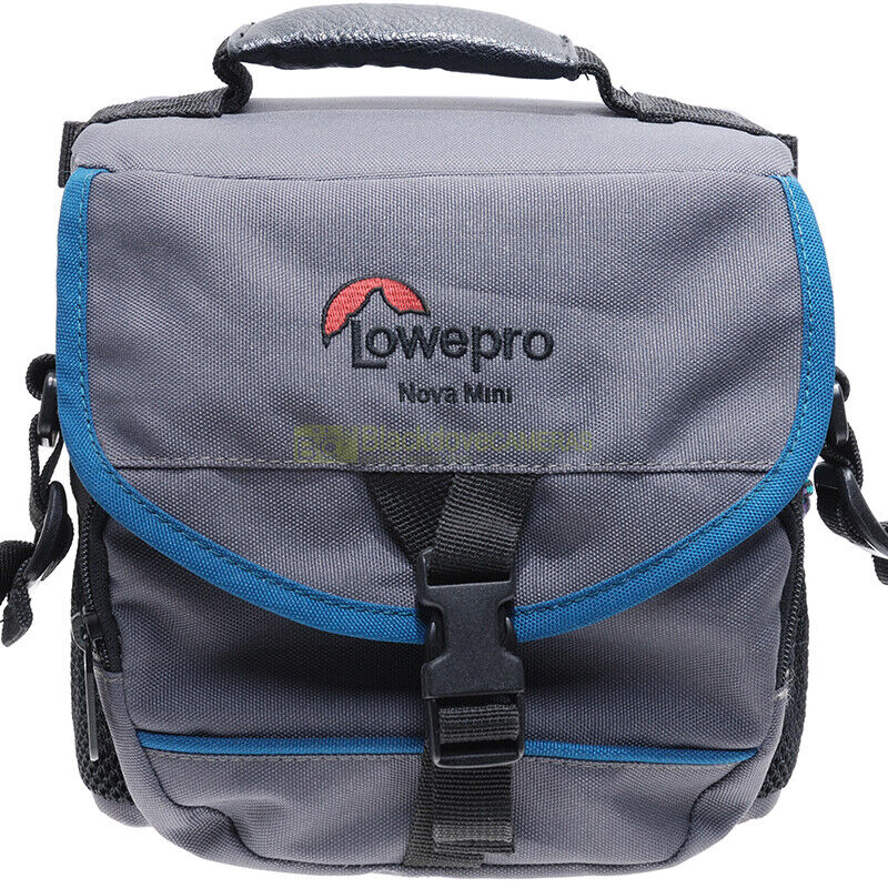 Borsa fotografica per fotocamera obiettivi e accessori Lowepro Nova Mini