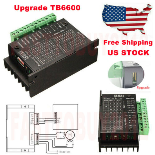 DIY Driver TB6600 Single Axis 4A 9~42VDC for Stepper Motor Controller 57BYG