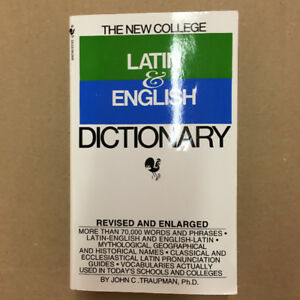 BRAND NEW The New College Latin & English Dictionnary