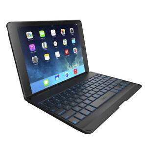 ZAGG Case with Backlit Bluetooth Keyboard ipad mini1-2