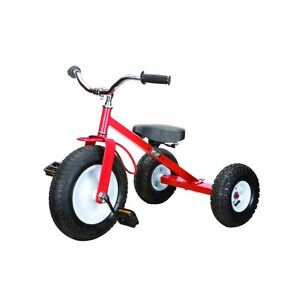 Jumbo Big Red Childrens All-Terrain Tricycle - New Stock in Box