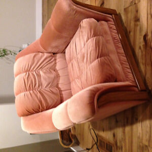 Comfortable Couch, Chair & Loveseat