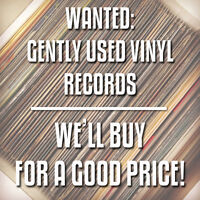 Buying gently used vinyl records for a good price!