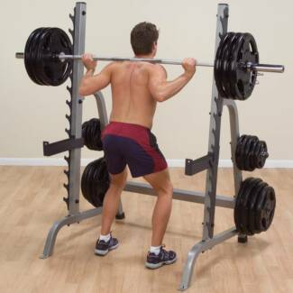 Commercial Grade Squat/Multi Rack - near new & half price