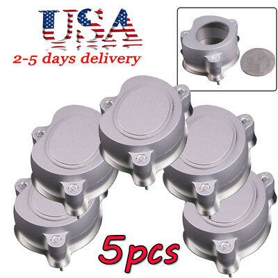 5x Aluminium Dental Flask Denture Flask Compressor Parts For Heat Treatment Usa
